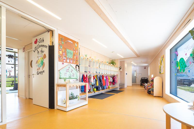 Eingangsbereich Kinderkrippe